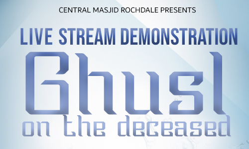 Live Stream Ghusl Event